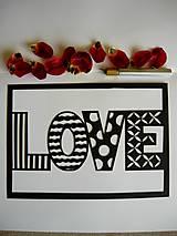 Obrazy - Jednoducho láska... - 5317614_