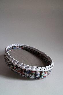 Košíky - Košík papierový - Zima II - 5319295_