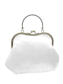 Kabelky - Spoločenská dámská biela kabelka  1420 - 5320396_