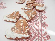 Darčeky pre svadobčanov - Srdiečková menovka Adrika - 5320933_