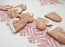 Darčeky pre svadobčanov - Srdiečková menovka Adrika - 5320935_