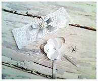 Pierka - Svadobné pierka v striebre. - 5321529_