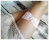 Bielizeň/Plavky - Podväzok- ružové sny - 5321648_