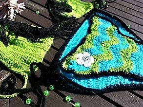 Bielizeň/Plavky - Plavky zeleno-tyrkysové - 5321115_