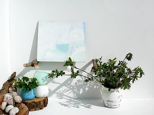 Vykukli Zo Snehu Bledule Lu Bi Sashe Sk Handmade Obrazy