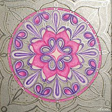 Obrazy - Mandala Tisíc a Jednej Noci - 5322086_