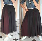 Sukne - Tylová sukňa na bežné nosenie rôzne farby - 5322597_