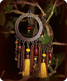 Náušnice - Yellow Gypsy - 5323560_