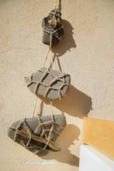 Dekorácie - Kamenné trio 2 - 5323655_
