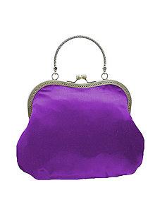 Kabelky - Spoločenská dámská fialová kabelka  1420 - 5324008_