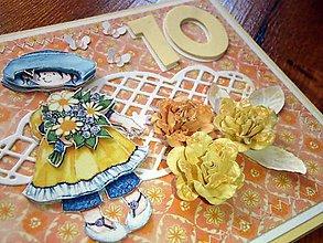 Papiernictvo - Pohľadnica k 10. narodeninám - 5326056_