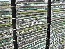 Úžitkový textil - koberec tkaný  70 x 200 cm Zelený - 5327148_