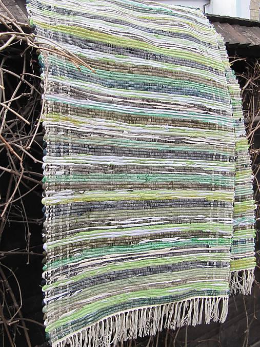koberec tkaný  70 x 200 cm Zelený