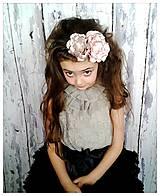 - Čelenka - púdrové kvety II. - 5330547_
