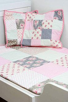 Úžitkový textil - Set prikrývky a vankúšov - 5328605_