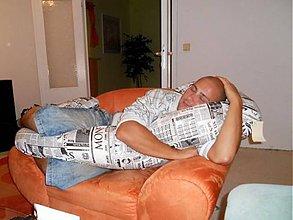 Nezaradené - Medzinožník DELUXE ... noviny v posteli:) - 5330275_