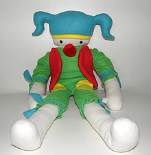 Bábiky - Bábika Clown - 5328110_