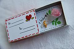 - Škatuľka - kvety z lásky - 5327957_