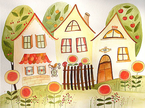 Z Jarnej Zahrady Bien Sashe Sk Handmade Kresby