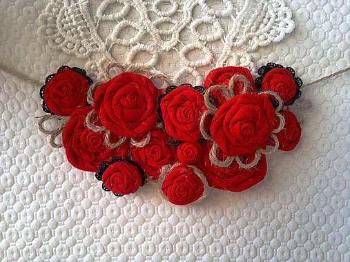 561a7da2f Náhrdelník ruže / kajanotka - SAShE.sk - Handmade Náhrdelníky