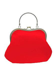 Kabelky - Spoločenská dámská červená kabelka  1420 - 5332963_