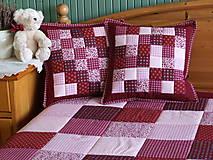 - patchwork obliečka 40x40 cm  - 5332552_