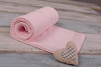 """Textil - Letná Deka pre Dievčatko,""""Dots""""- Ružová,OEKO-TEX® - 5334263_"""