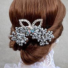 Svadobná spona do vlasov La Crealine - 5333214  bb723e244ca
