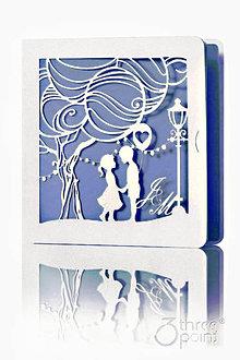 Papiernictvo - Strom Lásky - svadobné oznámenia - 5335172_