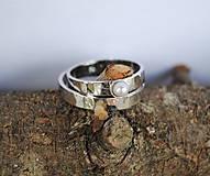 Prstene - Biela v bielej - 5341719_