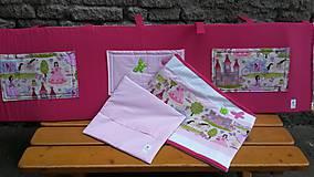 Textil - Zástenka -vzor magenta princesse - 5340825_