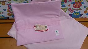 Textil - Zástenka -vzor magenta princesse - 5340842_