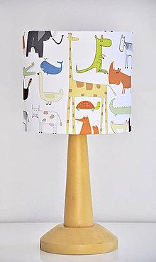Detské doplnky - Stínítko dětské Zvířátka - stolní/stropní - 5339321_