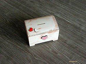 Krabičky - pokladnička SRDIEČKA - 5341649_