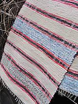 Úžitkový textil - koberec tkaný  70 x 250 cm tradičný - 5340017_