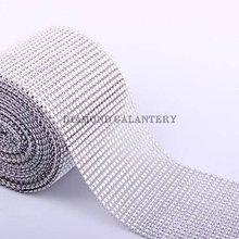 Galantéria - Kamienková stuha strieborná - cena za 10 cm - 5341775_