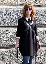 Šaty - FNDLK úpletové šaty 14 BVqK bez vrecák - 5341499_