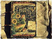 Papiernictvo - Kuchárska kniha - country poľovnícky receptár/Posledný kus - 5341143_