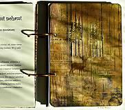 Papiernictvo - Kuchárska kniha - country poľovnícky receptár/Posledný kus - 5341153_