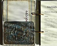 Papiernictvo - Kuchárska kniha - country poľovnícky receptár/Posledný kus - 5341160_