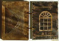 Papiernictvo - Kuchárska kniha - country poľovnícky receptár/Posledný kus - 5341161_
