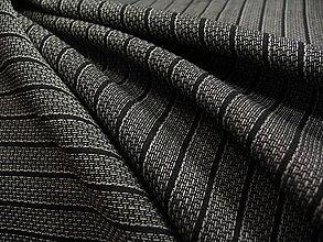 Textil - Pruhovaná šatovka - 5339134_