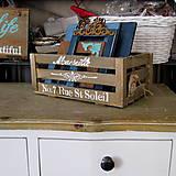 Nábytok - Francúzska bednička - veľká - 5342188_