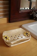 Nádoby - Mydelnička s tanierikom - 5342962_