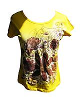 tričko hellow-yellow