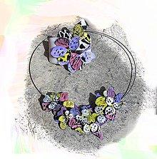 Sady šperkov - safari flowers - set - 5344409_
