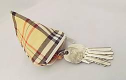 Taštičky - Kľúčenka Burberry - 5346040_