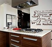 Šablóna na stenu Home Design BRICO XXL - Café  KRB6032