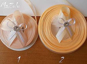 Pierka - svadobné pierko lososovoMarhuľkové s perím - 5343829_