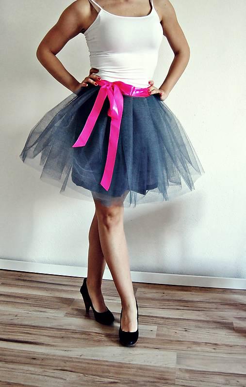 97ade3334ec6 Zavinovacia sukňa sivá   TinyThea - SAShE.sk - Handmade Sukne